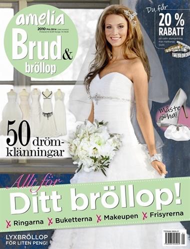 Amelia Brud & Bröllop omslag