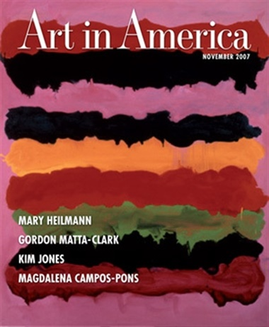 Art In America omslag