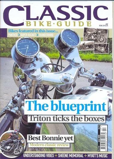 Classic Bike Guide omslag