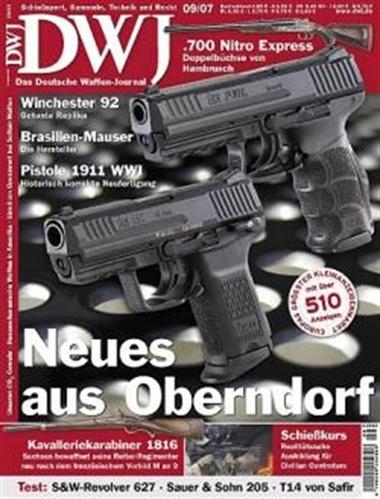 Deutsche Waffen Journal omslag