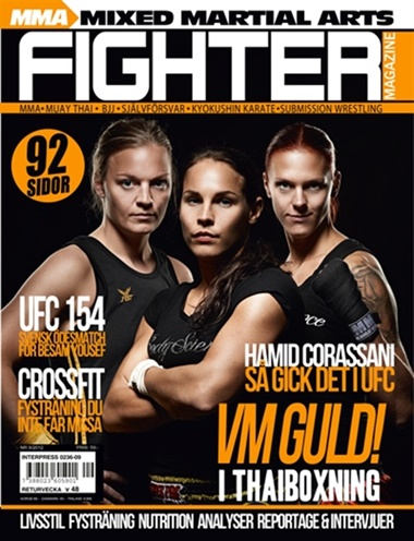 Fighter Magazine omslag