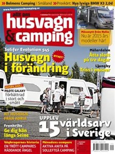 Husvagn och Camping omslag