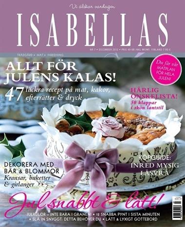 Isabellas omslag