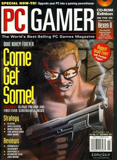 Pc Gamer (Med DVD) omslag