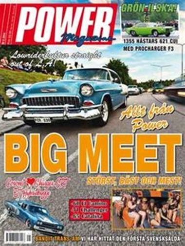 Power Magazine omslag