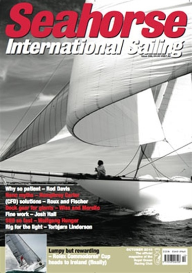 Seahorse International Sailing omslag