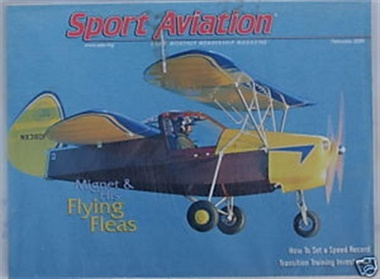 Sport Aviation omslag