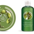 Olive-produkter från The Body Shop