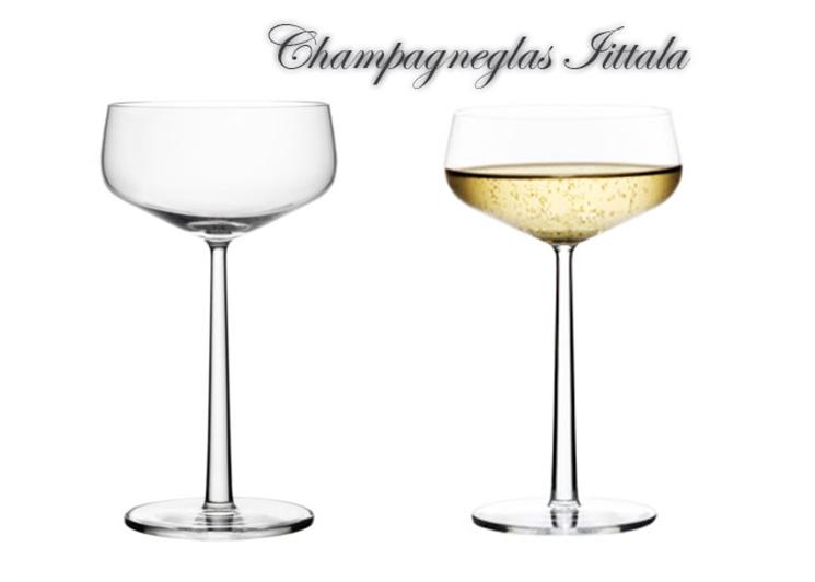 IITTALA CHAMPAGNEGLAS