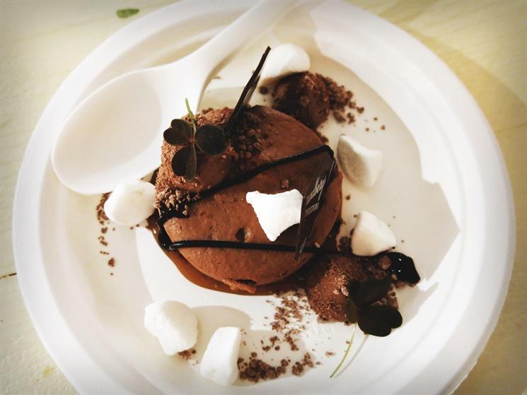 choklad efterrätt