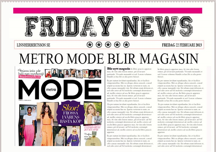 metro mode magasin
