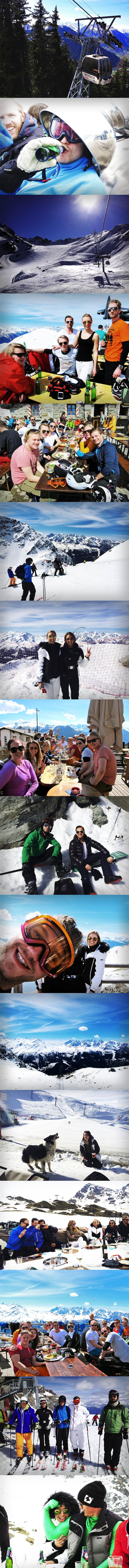 verbier lunch i backen