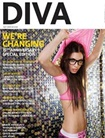 Diva Magazine omslag
