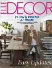 Elle Decor (us Edition) omslag