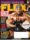 Flex Magazine omslag