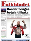 Folkbladet omslag