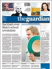 Guardian Saturday Issue One Issue Per Week/air Mail omslag