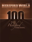 Hereford World Magazine omslag