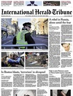 Int. Herald Tribune Saturday omslag