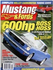 Modified Mustang & Fords omslag