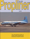 Propliner Aviation Magazine omslag