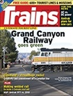 Trains Magazine omslag