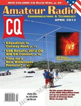 Cq, Radio Amateur´s Journal omslag