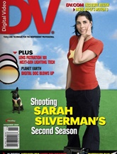 Digital Video Dv Magazine omslag