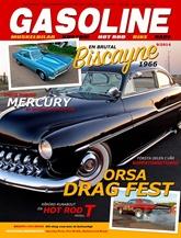 Gasoline Magazine omslag
