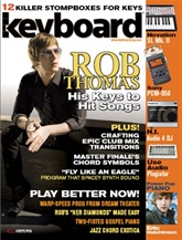 Keyboard Magazine omslag