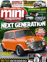 Mini Magazine omslag