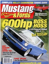 Modified Mustangs And Fords omslag