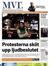 Motala & Vadstena Tidning omslag