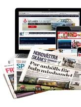 Nordvästra Skånes Tidningar omslag