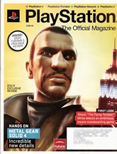 Playstation Official Magazine (UK Edition) omslag
