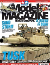 Tamiya Model Magazine International omslag
