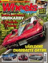 Wheels Magazine omslag