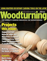 Woodturning omslag