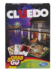 Cluedo Grab And Go - Resespel omslag