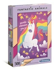 Fantastic Animals Unicorn Pussel, 500 bitar omslag