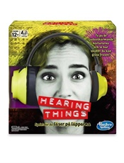 Hearing Things - Spel omslag