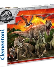 Jurassic World Pussel Supercolors, 250 bitar omslag