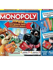 Monopoly Junior Electronic Banking SE/FI omslag