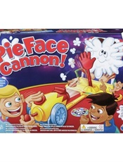 Pie Face Cannon - Spel omslag