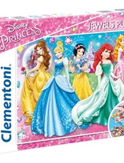 Prinsessor Twinkled Ladies Jewels Pussel, 104 bitar omslag