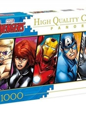 The Avengers Panorama Pussel, 1000 bitar omslag
