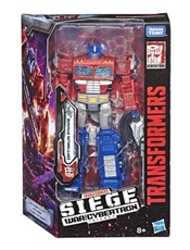 Transformers War For Cybertron; Siege, Optimus Prime omslag