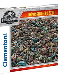 Jurassic World Impossible Pussel, 1000 bitar omslag