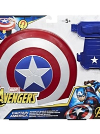 Avengers Captain America Magnetic Shield & Gauntlet omslag