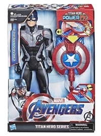 Avengers Titan Hero Power Fx 2.0 Captain America omslag